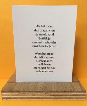 Kaart 'Dragen' van stephanieschrijft.nl